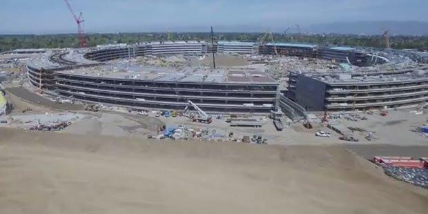 """Neues Drohnen-Video vom """"Apple-Ufo"""