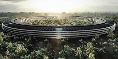"Apple darf ""Ufo""-Hauptquartier bauen"