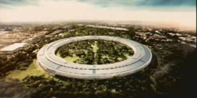 """Apple baut """"Raumschiff"""" für 12.000 Mitarbeiter"""