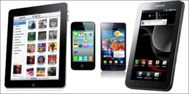Samsung will iPhone 5 (4S) & iPad 3 sehen