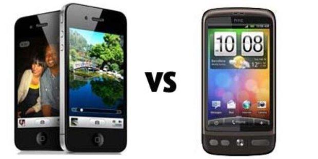 Fight zwischen Apple und HTC wird härter