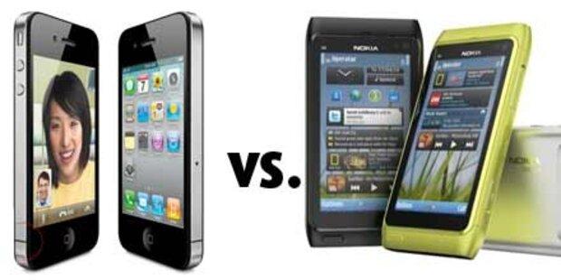 Apple verschärft Patentstreit mit Nokia