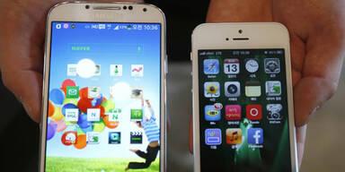Apple vs. Samsung: Fight geht weiter