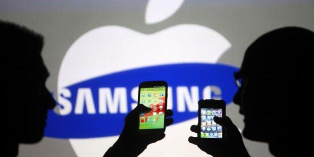 Erfolg für Samsung im Streit mit Apple