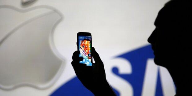 Samsung muss Apple 120 Mio. Dollar zahlen