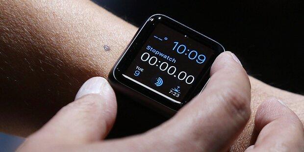 Apple Watch will mit Features punkten