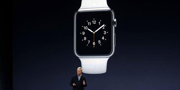 Darum steht die Apple Watch immer auf 10.09