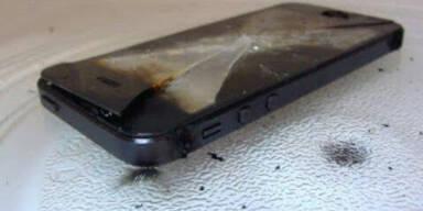 iPhone-User fallen auf Scherz rein