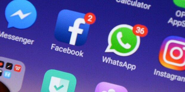 Störung legt Facebook & Co. lahm