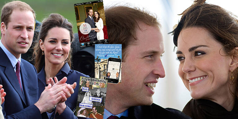Die besten 'Royal Wedding'-Apps