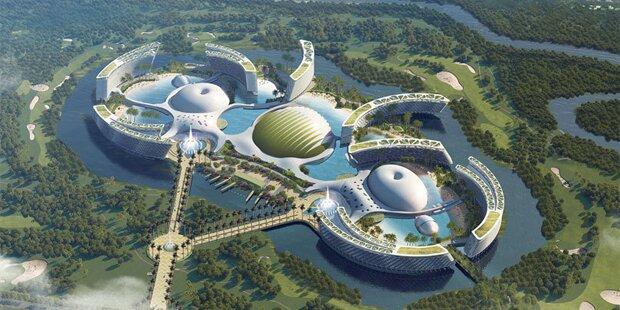 Das wird das größte Hotel der Welt