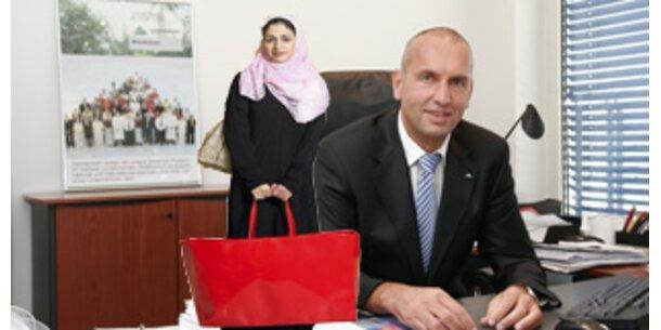 Araber stürmen Österreich