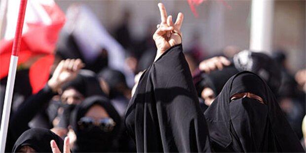 Proteste in Bahrain, Jemen und Iran