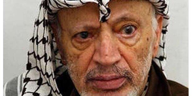 Arafat wurde von Israel