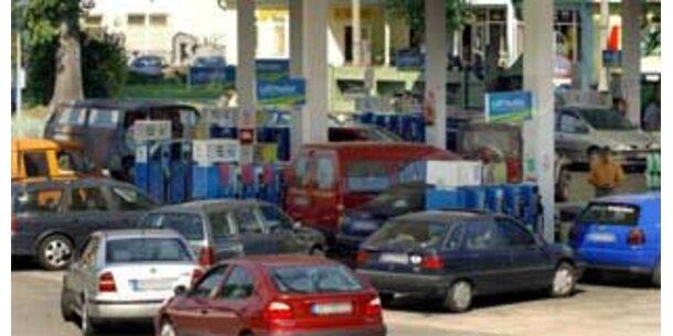 Deutsche Tankstellen wurden trockengelegt