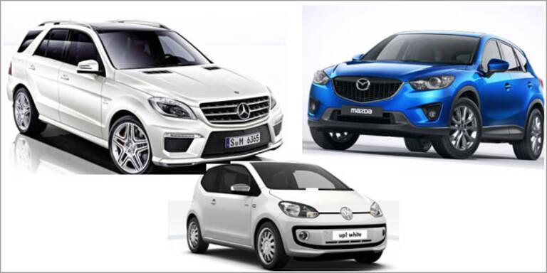 Das sind die beliebtesten Autos Österreichs