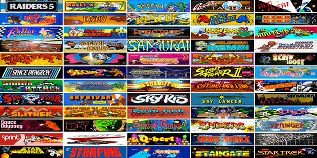 Webseite bringt 900 Arcade-Klassiker
