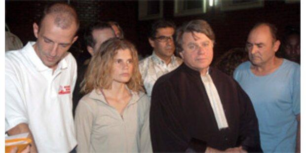 Mitarbeiter von Arche de Zoé freigelassen