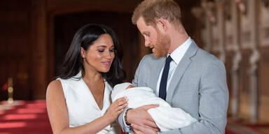 Geburtsurkunde enthüllt: Hier kam Baby Archie zur Welt
