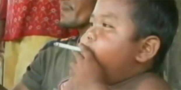 Bub raucht wieder 40 Tschick täglich