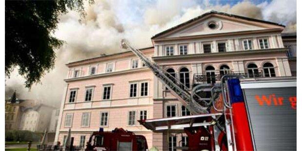 Feuer im Schloss Arenberg
