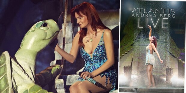 Andrea Berg singt live in Atlantis