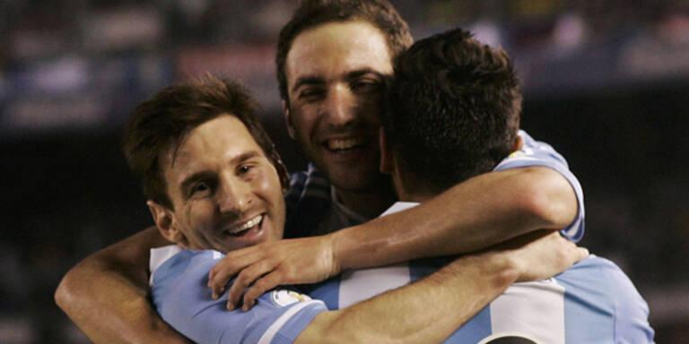 Argentinien in WM-Quali souverän