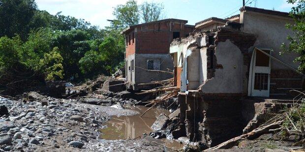 Schwere Gewitter in Argentinien