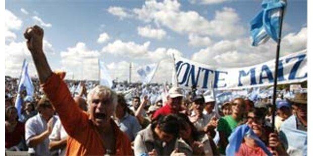 Bauern in Argentinien setzen Streiks aus