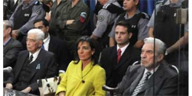 Argentinische Generäle verurteilt