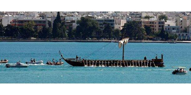 Moderne Argonauten rudern nach Venedig