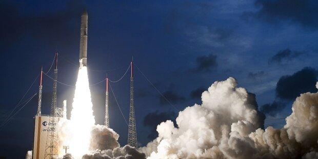 Ariane-Raketenstart wurde verschoben