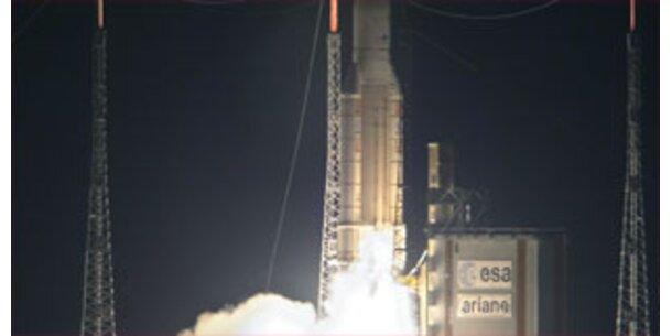 Ariane-Rakete platzierte zwei Satelliten im All