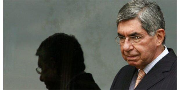 Costa Ricas Präsident hat Schweinegrippe