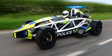 Das wohl verrückteste Polizeiauto der Welt