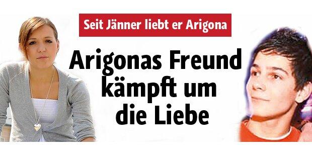 Arigonas Freund kämpft um die Liebe