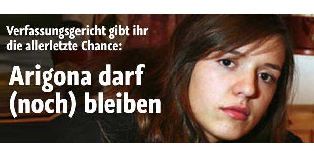 Arigona darf noch in Österreich bleiben