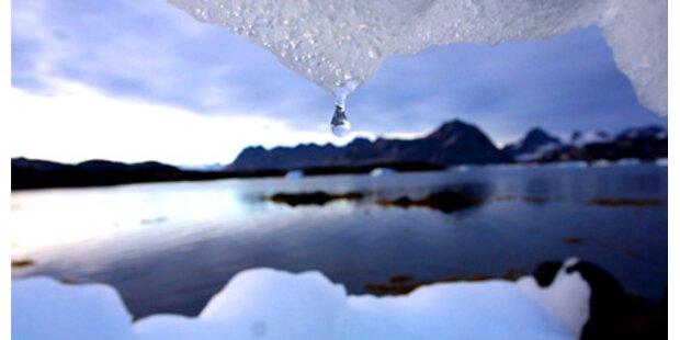 Arktis-Eis wird immer dünner