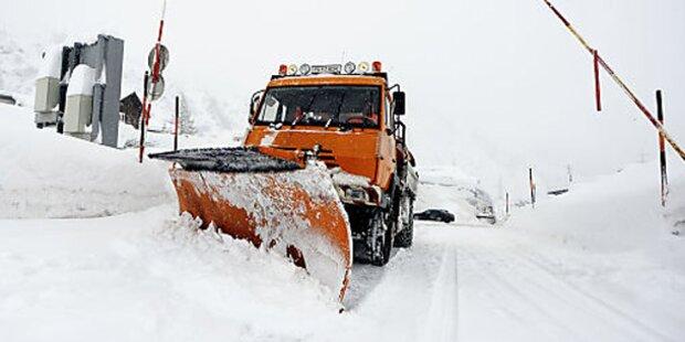 Schnee: Lage im Pinzgau beruhigt sich