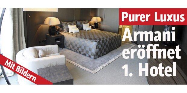 Armani eröffnet erstes Hotel in Dubai