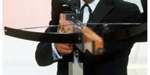 Sohn tötet Vater mit Armbrust