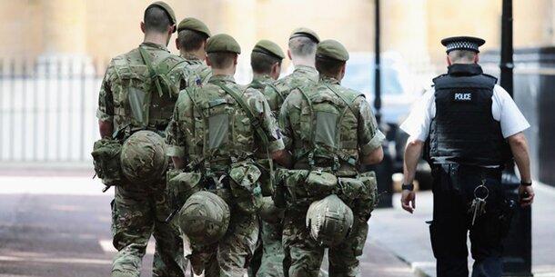 Briten aktivieren Soldaten!