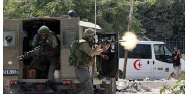 Israelischer Vorstoß in Gaza-Streifen