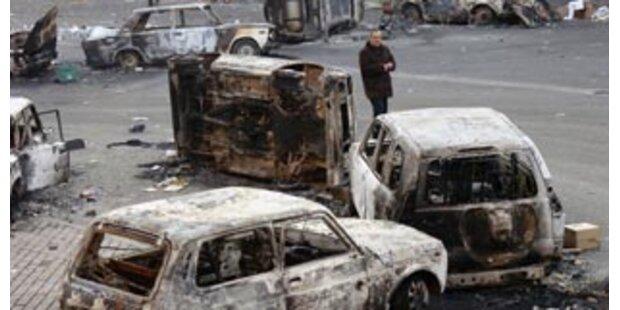Acht Tote bei Auseinandersetzungen in Armenien