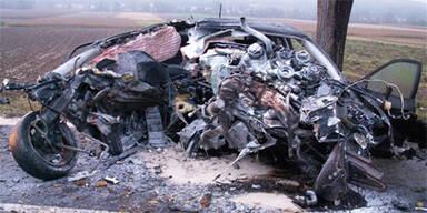 Prothesen-Träger stirbt nach Horror-Crash