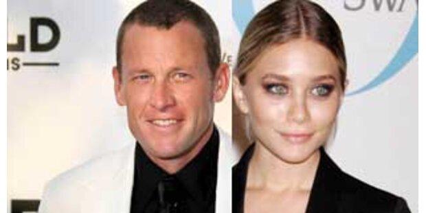 Lance Armstrong bandelt mit Ashley Olsen an