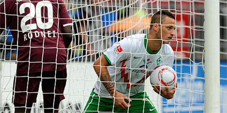 Arnautovic trifft, Stranzl muss in Relegation