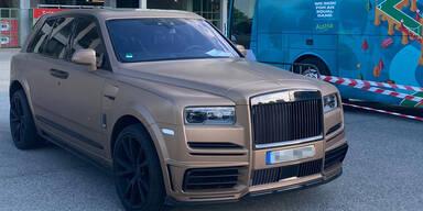 Arnies Rolls Royce war der Hingucker