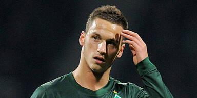 Arnautovic wieder im Werder-Training