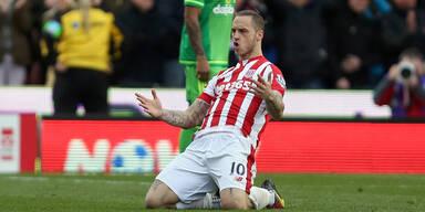 Stoke-Trainer kämpft um Arnautovic
